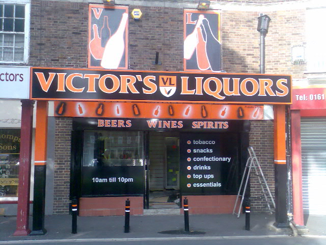 Victor's Liquors, Sale Road, Manchester