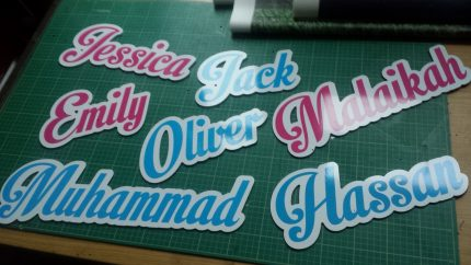 Personalized Name Placque